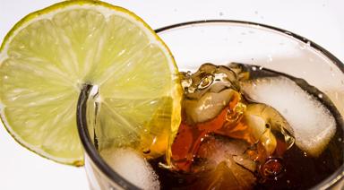 Cola und Limonaden