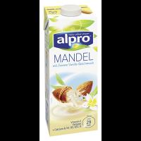 Alpro Mandeldrink Vanille rein pflanzlich, 1,1 % Fett 1 l Faltschachtel