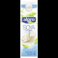 Alpro Sojadrink Original Fresh + Calcium Micherzeugnis aus Soja, 1,8 % Fett 1 l Packung