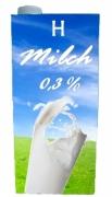 H-Milch 0,3% Fett 1ltr
